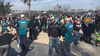 Bold City Brigade holds Jaguars send-off