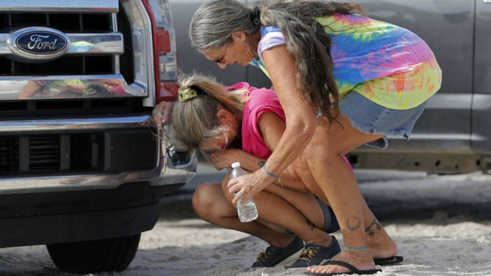 Mexico Beach residents