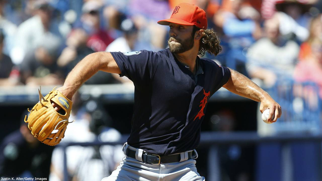Daniel Norris Detroit Tigers spring training 2017