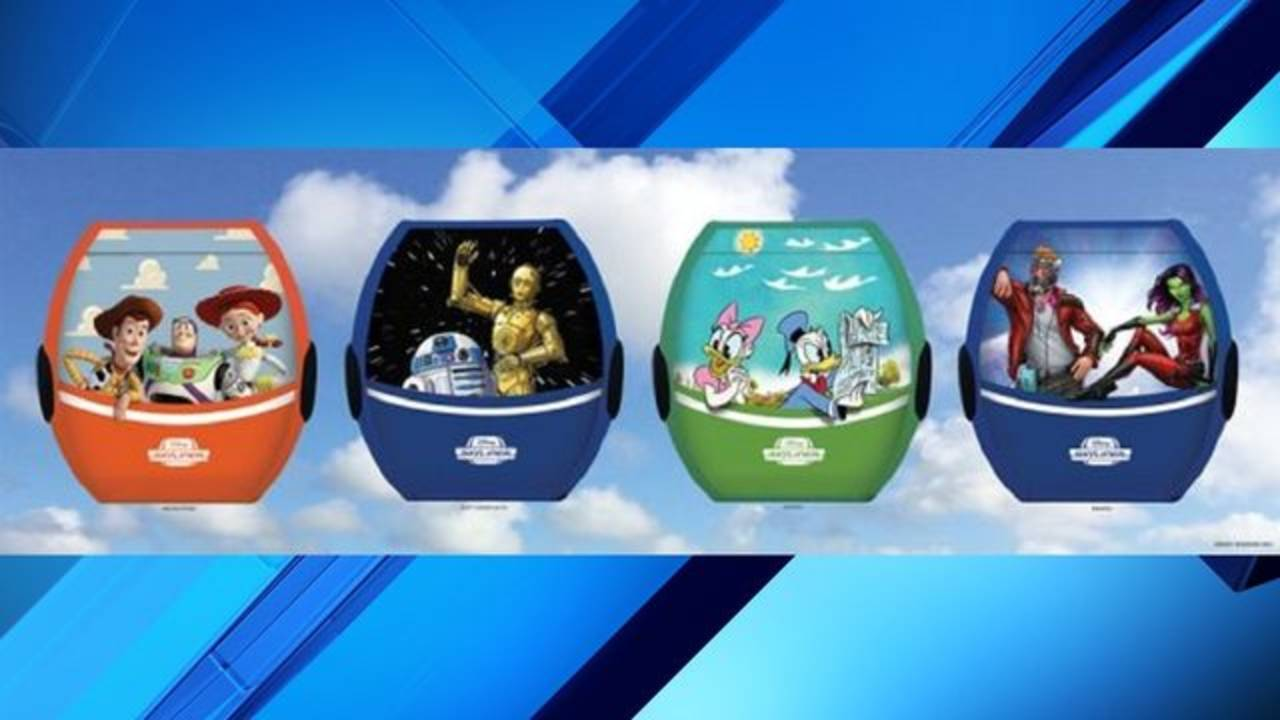disney gondola graphics