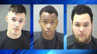 Trio receives Valentine's Day gift of 27 total charges from Lynchburg police