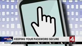 Help Me Hank: Keeping your passwords secure