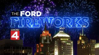 WATCH LIVE: Ford Fireworks on the Detroit River on June 24