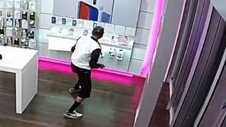 Man vigorously rips iPhones from security cables at T-Mobile store, deputies say