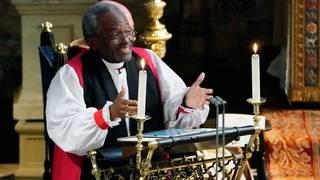 Bishop Michael Curry's wedding address