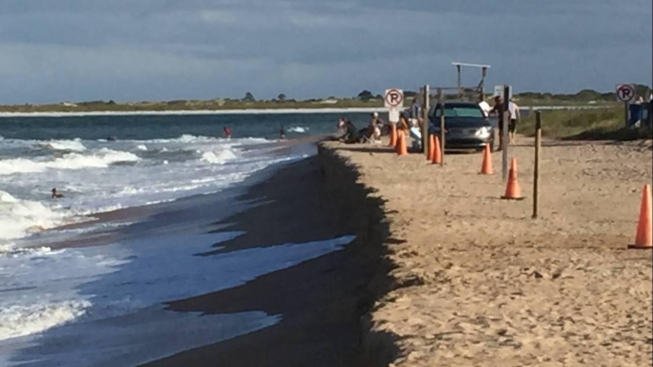 Vilano Beach erosion 2