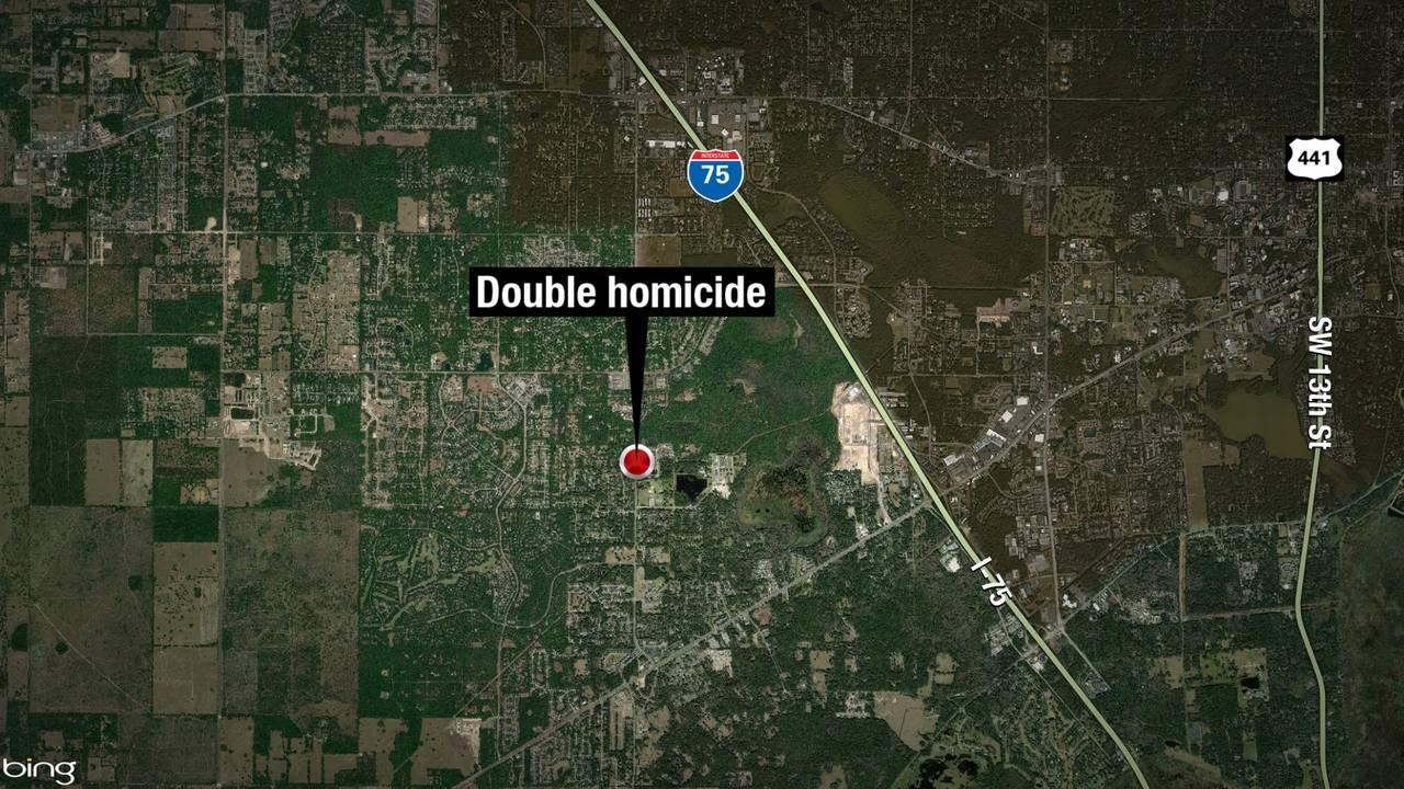 11-16-18 Alachua County double homicide map
