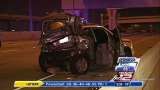 Woman fatally struck after SUV stalls on highway