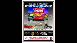 Detroit Police Department hosts 2018 Showdown in Motown Bike and Car&hellip&#x3b;