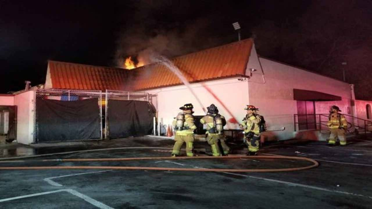 Miami-Dade Fire Rescue extinguishes Little Havana Restaurant roof fire