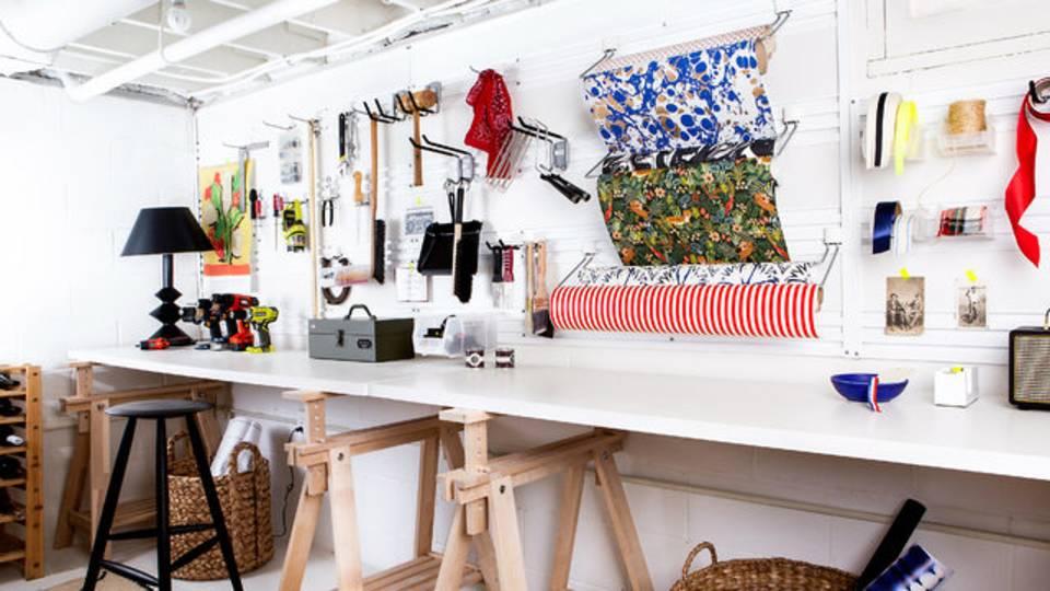 1230 Olivia Ave Workroom crafts area