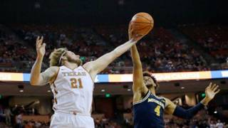 Abdur-Rahkman leads Michigan basketball over Texas 59-52