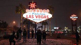 Snow is hottest show in Las Vegas right now