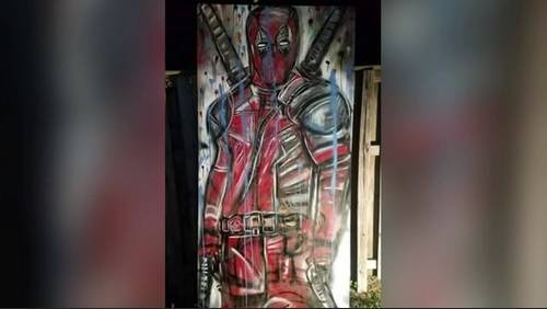 Local artist asks for help after prized painting stolen
