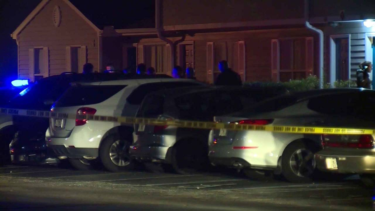 Crime scene at Waterleaf apartments and townhomes