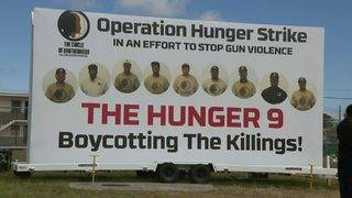 Frustrated by gun violence, Liberty City men go hungry