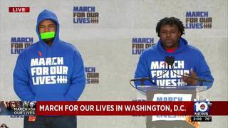 March for Our Lives: Gun control activists from Chicago stand with Parkland