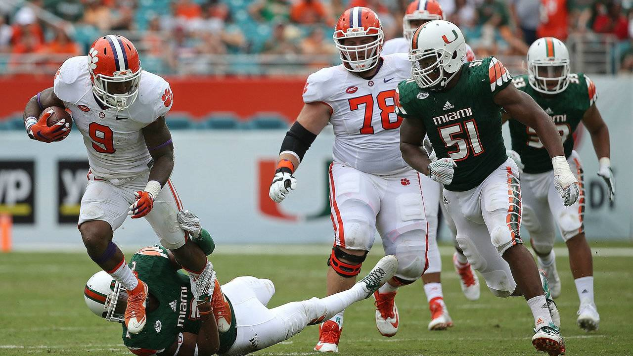 Clemson Football Vs Miami Time Tv Schedule Game Preview