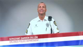 Sergeant Darren Dillon of the Orlando Police Department