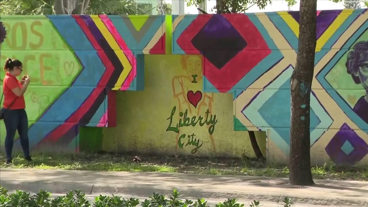 Mural in Liberty City