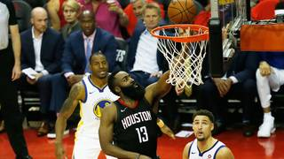 Rockets throttle Warriors 127-105 to tie conference finals 1-all