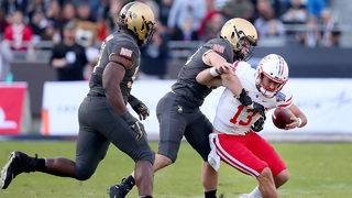Hopkins has 5 TDs, No. 22 Army routs Houston 70-14
