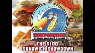 Surfwiches: Sandwich Showdown $100 Sweepstakes