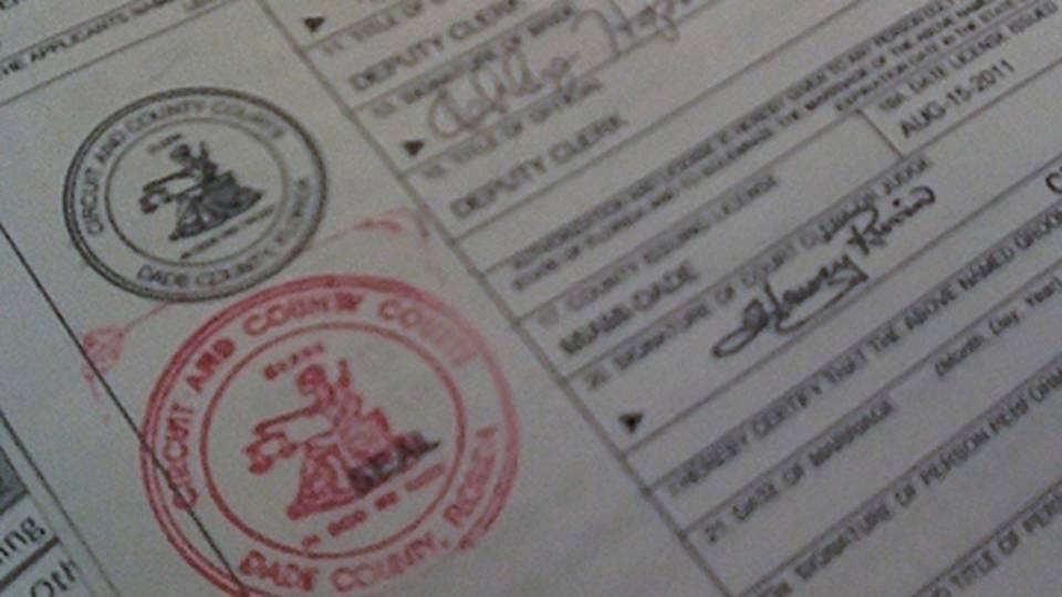 Miami Dade County Marriage Records Free Driveeapusedmotorhomefo