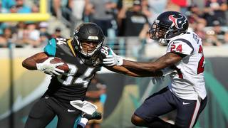 Jaguars rout Texans 45-7, clinch 1st playoff berth since 2007