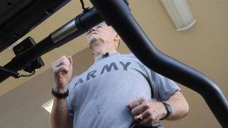 74-year-old Army veteran's workouts help him connect to himself, other veterans