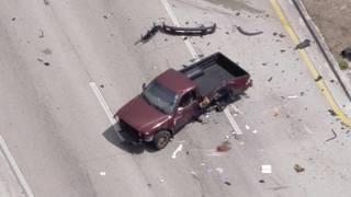 2 injured in Hialeah car crash