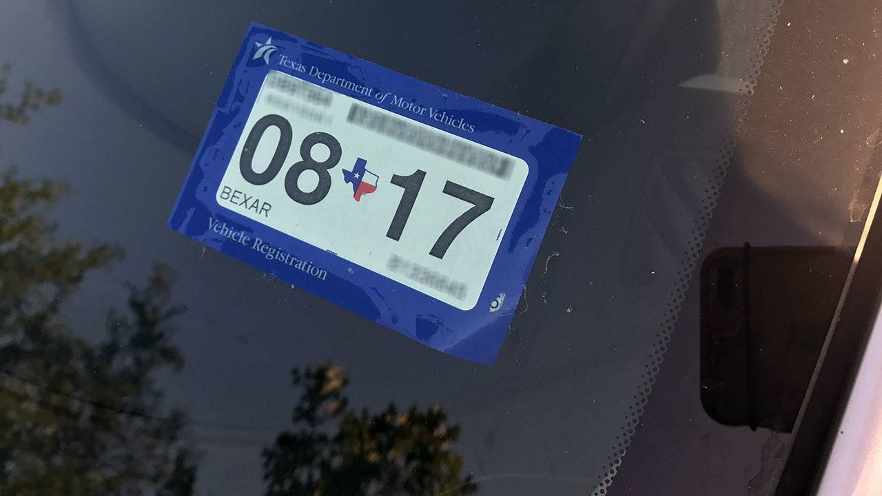 Texas residents in Harvey-affected counties get break on vehicle registration