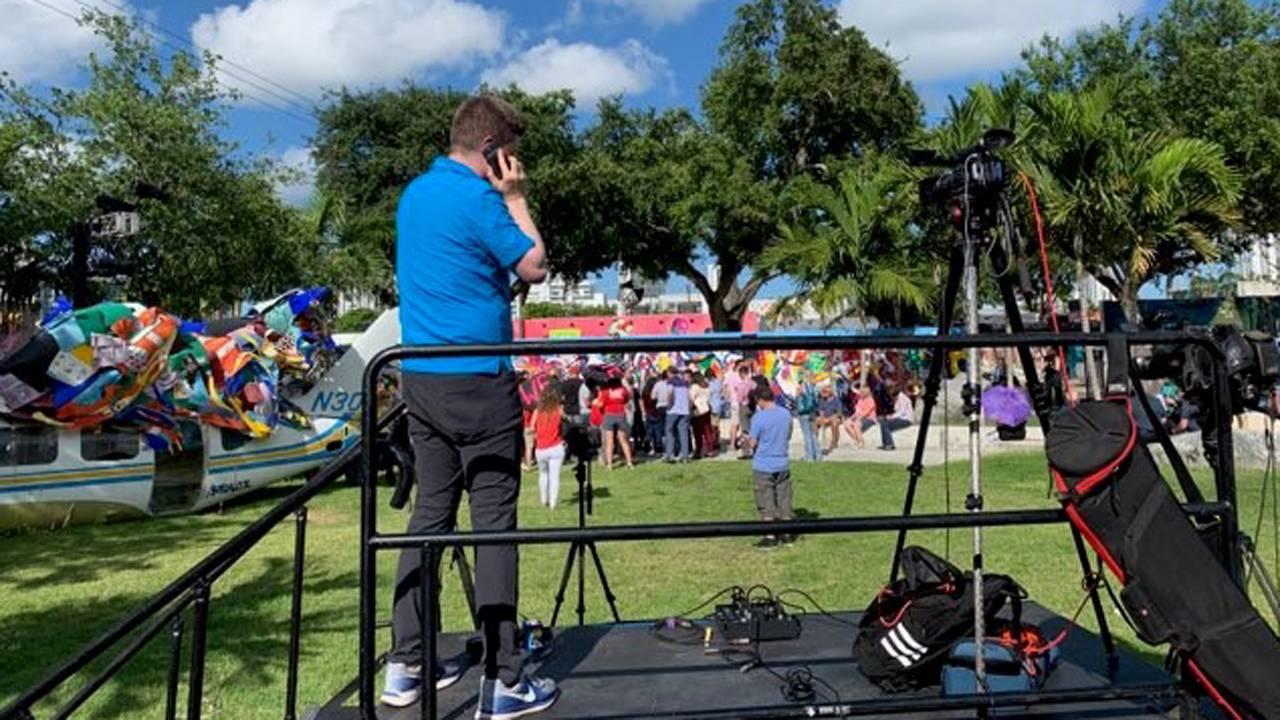 Pete Buttigieg fans in Miami