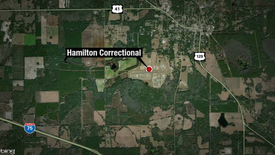 Hamilton Correctional map