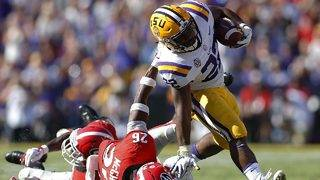 LSU's Orgeron takes signature win over No. 2 Georgia, 36-16