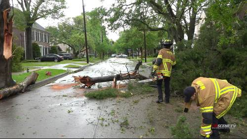 Tornado touchdown confirmed in Pasadena, NWS says