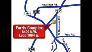 Farris Football Stadium Map