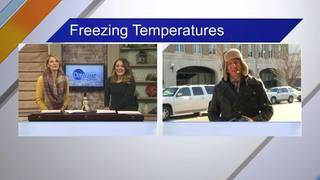 Daytime Dish: Freezing Weather, Golden Globes Preview