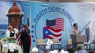 Politicians talk rebuilding, growth after Hurricane Maria at Puerto Rican Summit