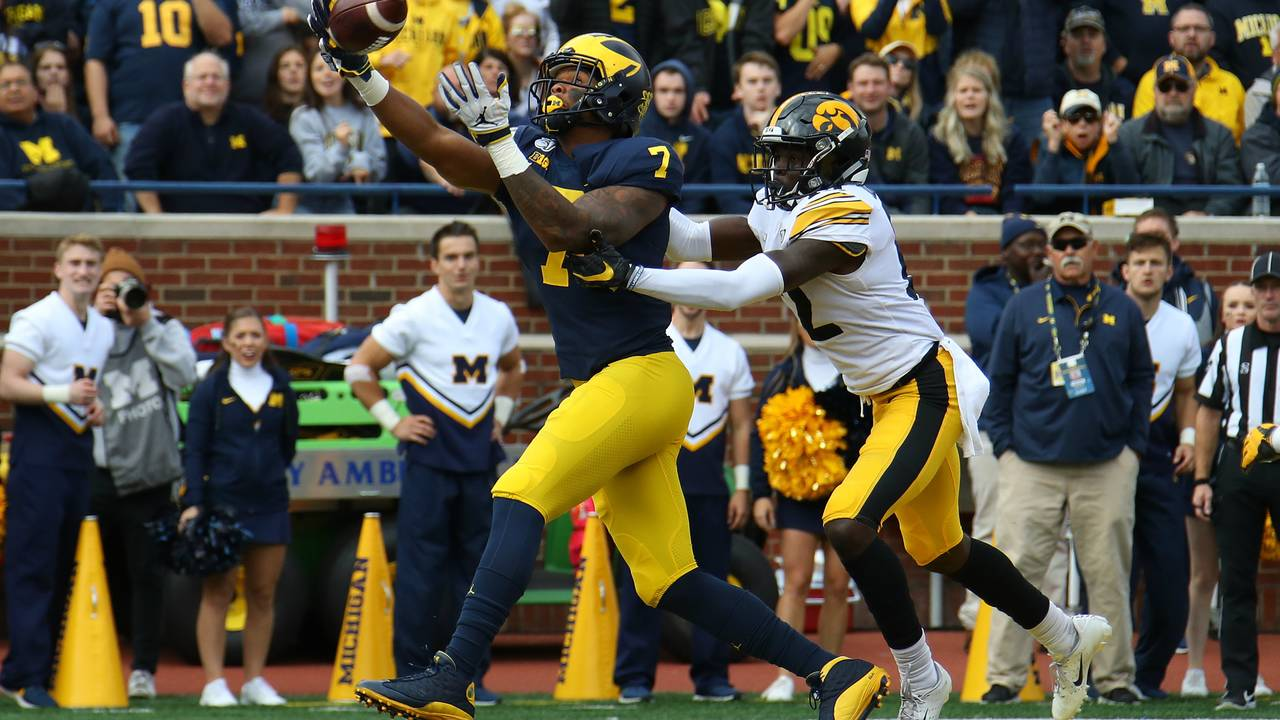Tarik Black Michigan football vs Iowa 2019