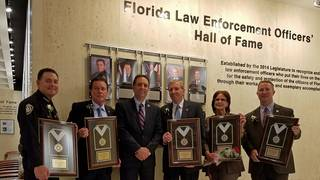Former St  Johns County Sheriff inducted into law enforcement
