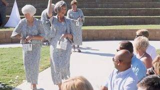 These 4 Grandmas Played the Role of Flower Girl and Nailed It