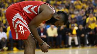 Rockets blitzed by Warriors 115-86 in Game 6