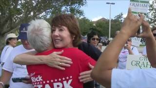 Candidates campaign in South Florida as early voting kicks off in Broward