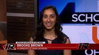Scholar Athlete: Brooke Brown, Floresville High School
