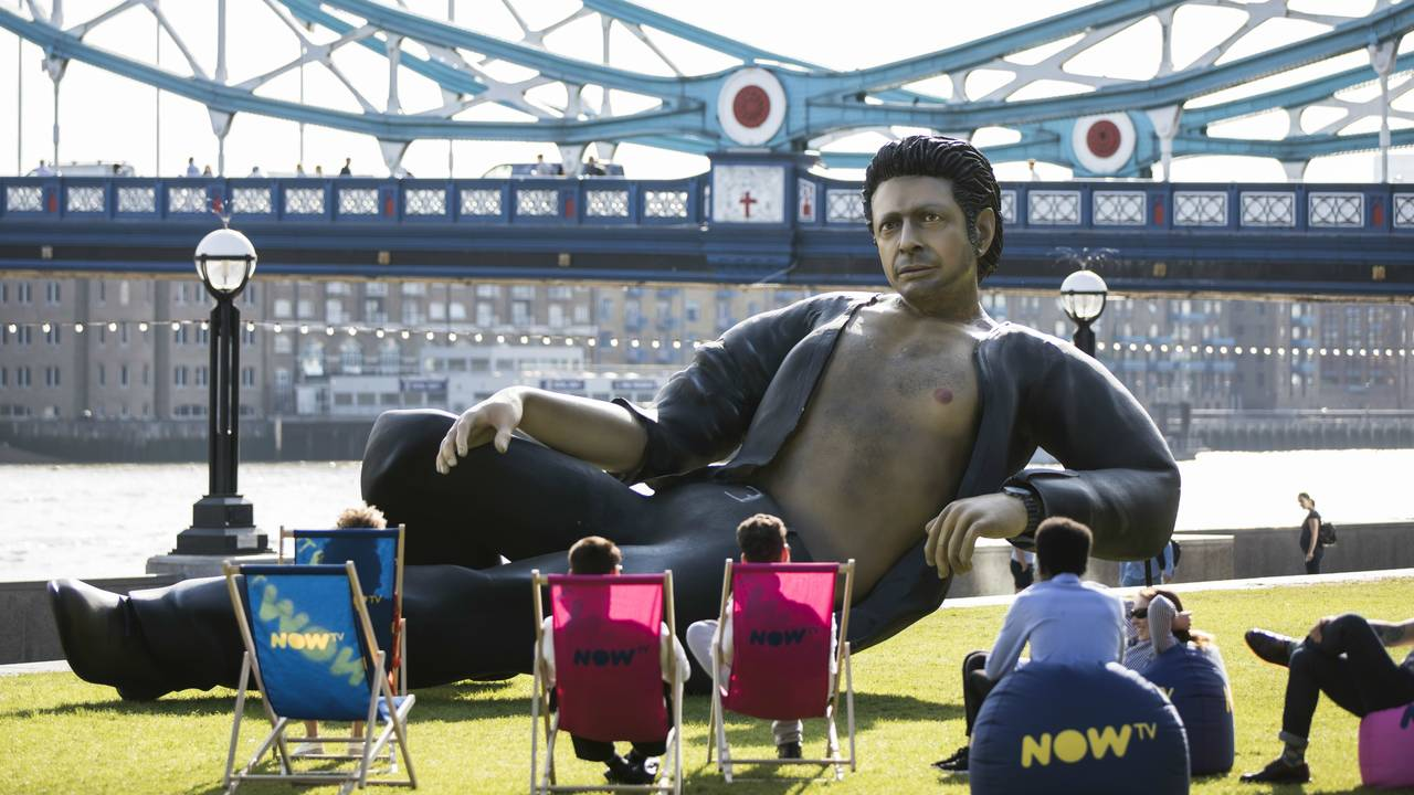 Jeff Goldblum float