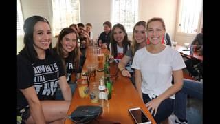 Slideshow: Fans show Spurs spirit, support across city despite loss