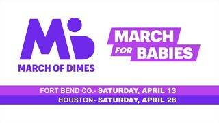 Help save babies with the March of Dimes' March for Babies