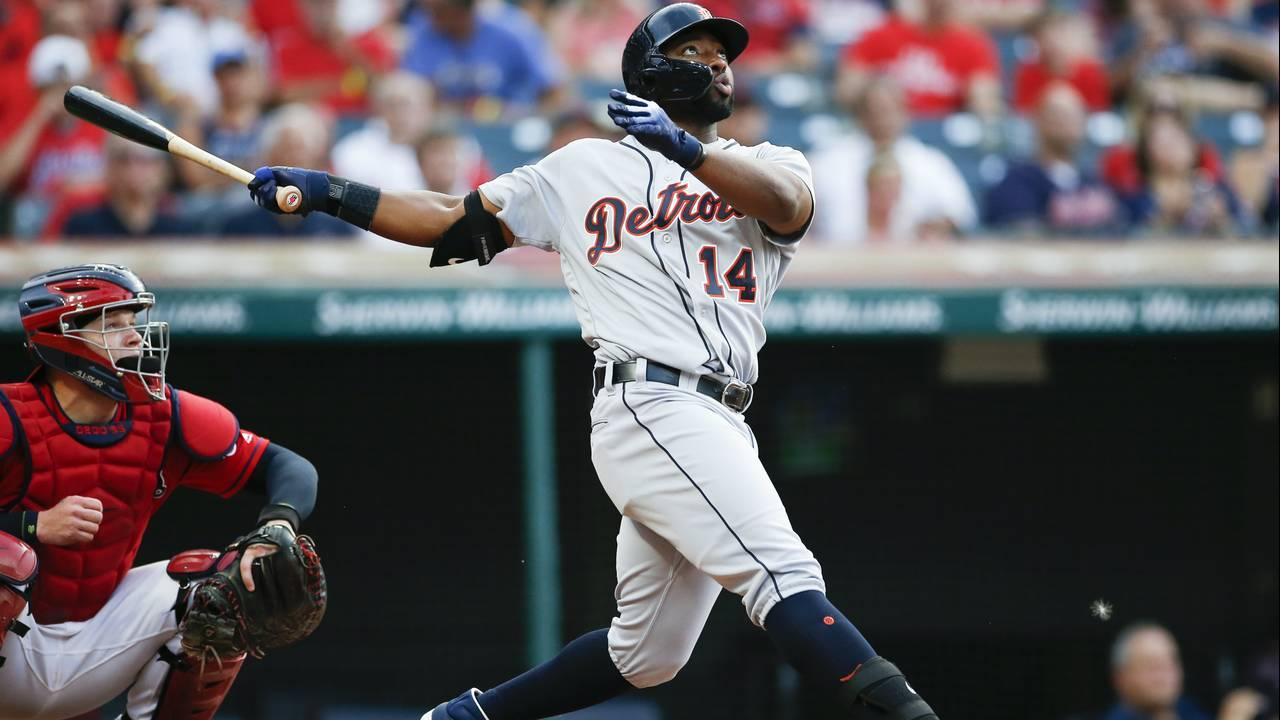 Christin Stewart Detroit Tigers vs Indians 2019
