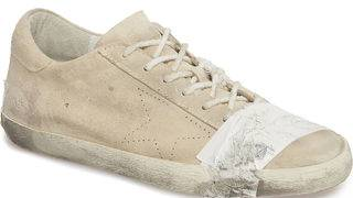 Grungy, taped-up sneakers selling for $530